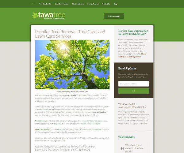 Lawn Care Website Design